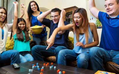 Games as bring-along Gifts