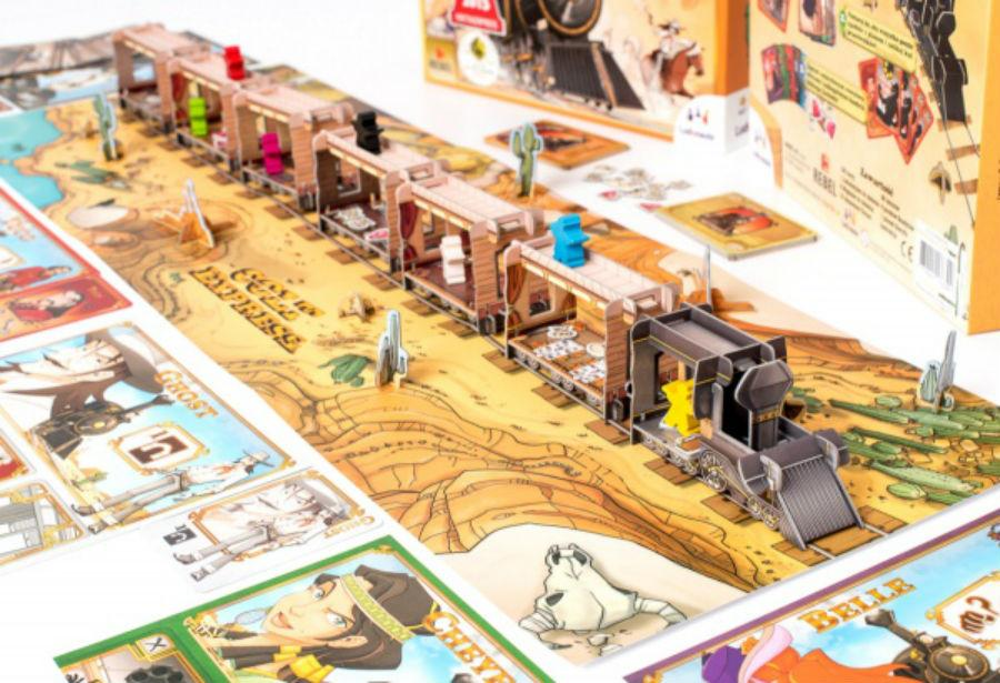 Colt Express Across The Board Game Cafe