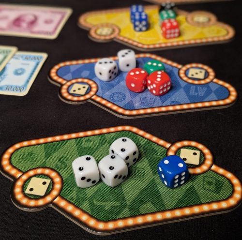 Las vegas board game effectiveness and ineffectiveness of gambling