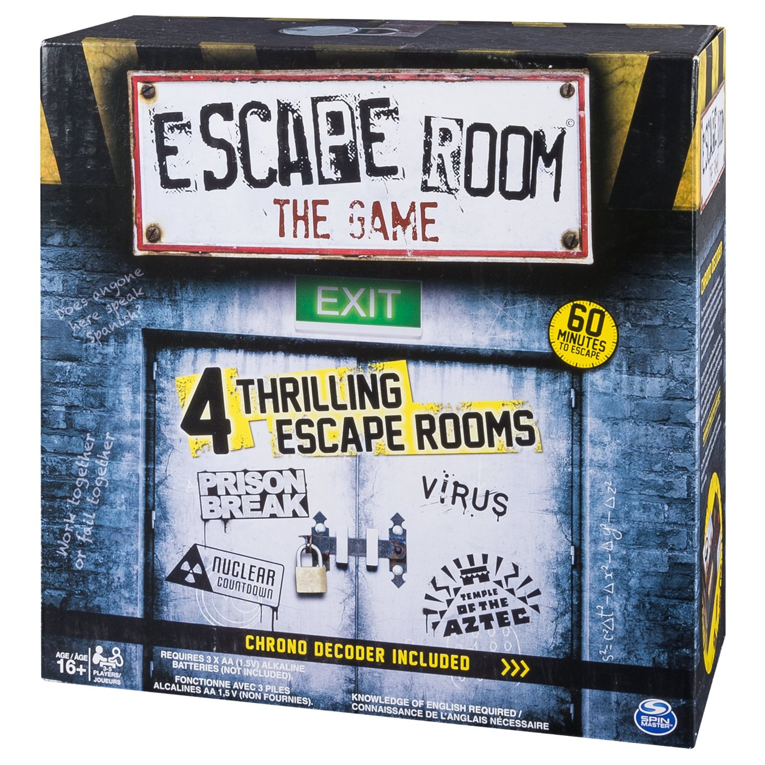 Escape room the game across the board caf for The room escape game