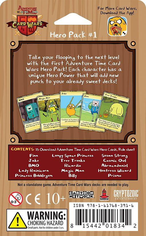 Adventure Time Card Wars: Hero Pack