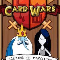 Adventure Time Card Wars: Ice King Vs Marceline