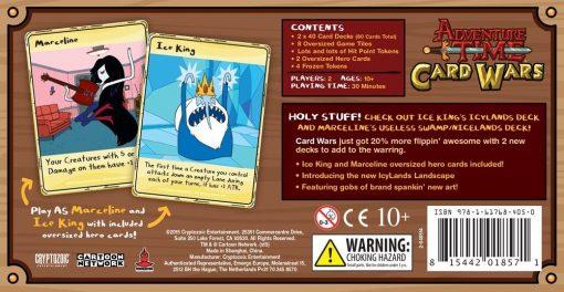 Adventure Time Card Wars: Ice King Vs Marceline