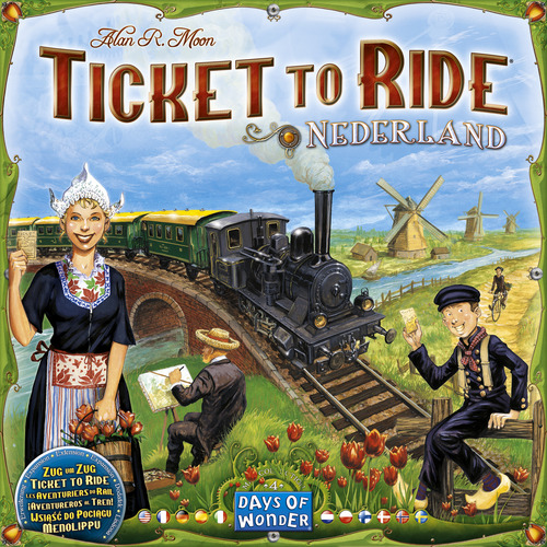Ticket To Ride Map Collection: Volume 4 Nederland