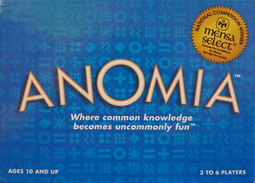 anomia | across the board game cafe, Skeleton