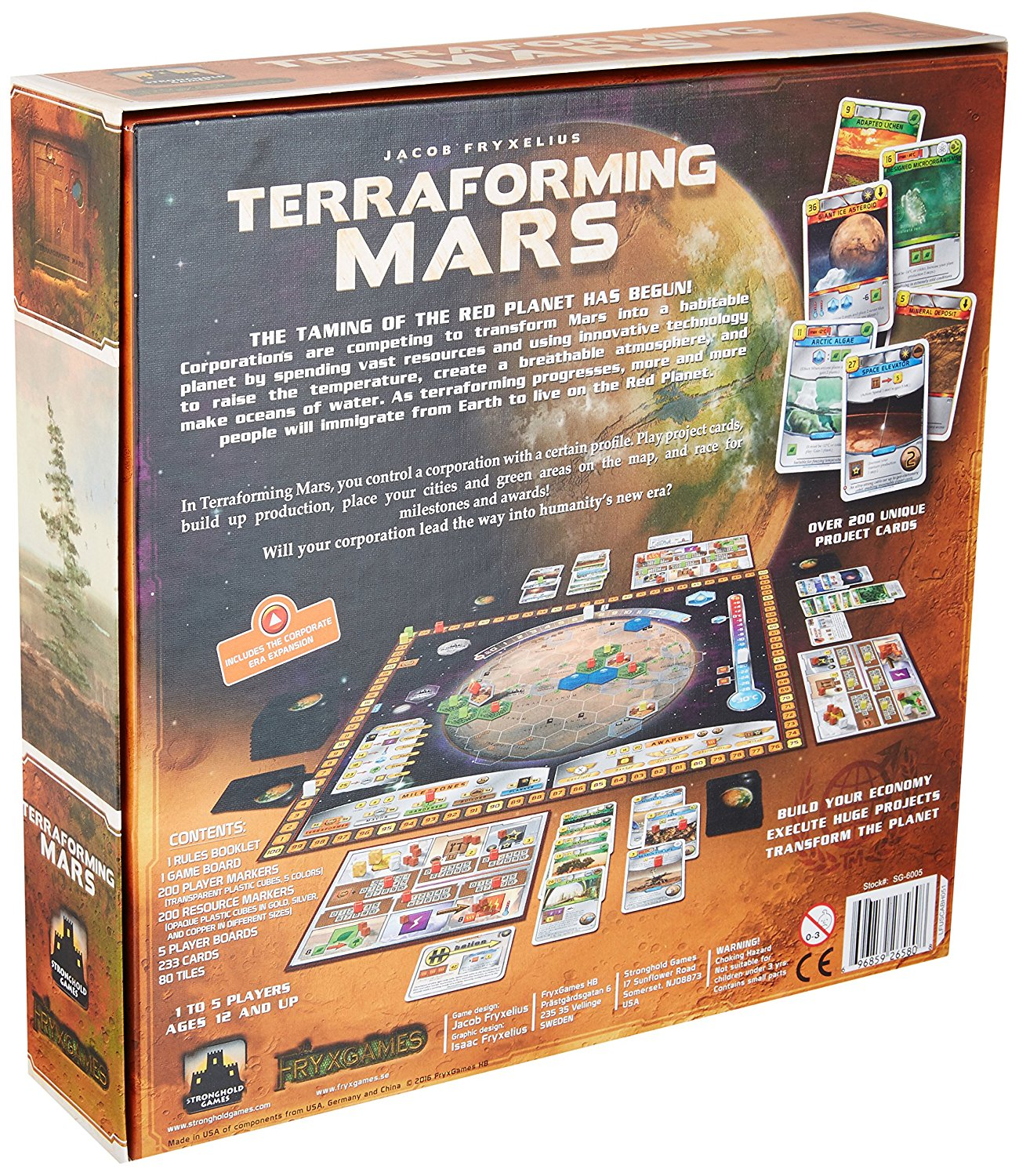 terraforming mars  Terraforming Mars | Across the Board Game Cafe