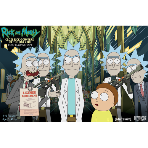 Close Rick Counters Of The Rick Kind Deck Building