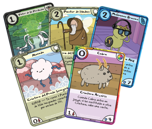 adventure time card wars how to play