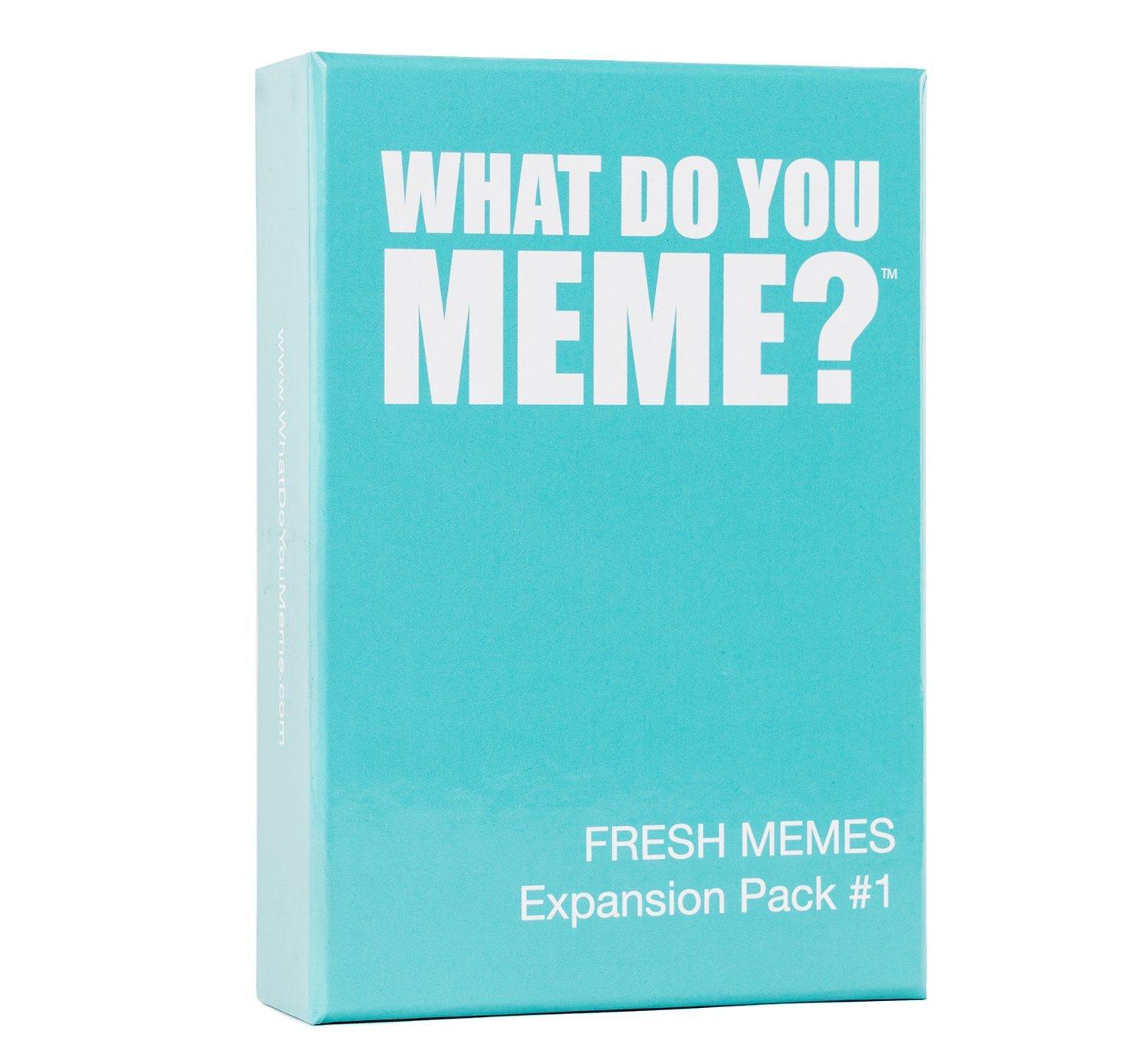What Do You Meme? Fresh Memes Expansion Pack #1   Across ...