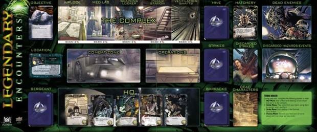 Legendary Encounters Alien Across The Board Game Cafe